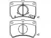 Brake Pad Set:BG35-49-28ZA