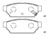 Brake Pad Set:MB 928 314